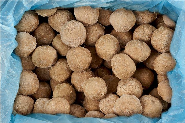 Large meatballs bulk