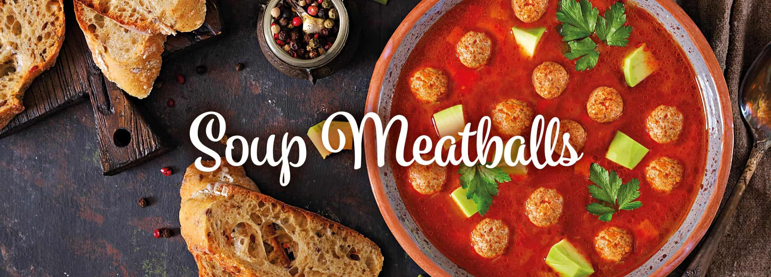 New ELV Soup Meatballs