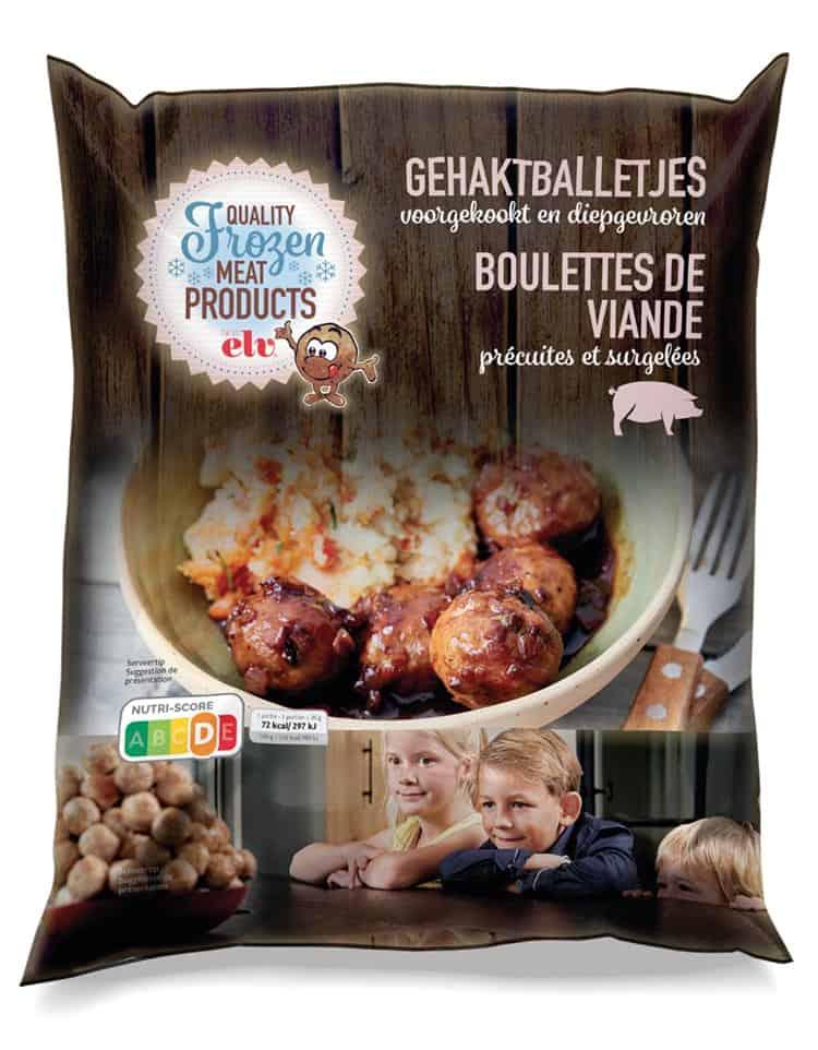Meatballs packaging